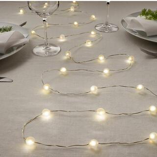 イケア(IKEA)のLEDライトチェーン IKEA(蛍光灯/電球)
