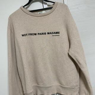 マルタンマルジェラ(Maison Martin Margiela)のドロールドムッシュ sweater(スウェット)