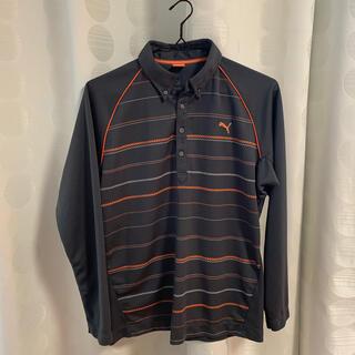 プーマ(PUMA)のゴルフウェア メンズ 長袖 ポロシャツ(シャツ)
