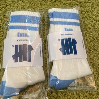 アンディフィーテッド(UNDEFEATED)のソックス 靴下 undefeated アンディフィーテッド2セット(その他)