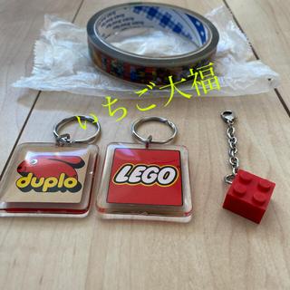 レゴ(Lego)のLEGO キーホルダー 廃盤 4点(キーホルダー)