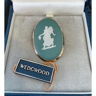 ウェッジウッド(WEDGWOOD)のWEDGWOOD ブローチ 新品未使用(ブローチ/コサージュ)