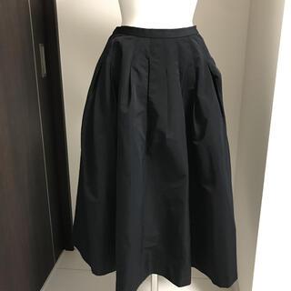 マルティニークルコント(martinique Le Conte)のマルティニーク ネイビーブラック スカート(ひざ丈スカート)