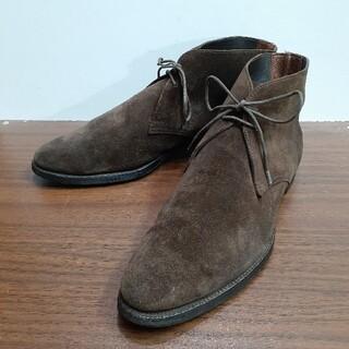 クロケットアンドジョーンズ(Crockett&Jones)のクロケット&ジョーンズ スエード チャッカブーツ 革靴 レザー(ブーツ)