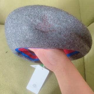 ヴィヴィアンウエストウッド(Vivienne Westwood)の最終セール vivienne westwood  ベレー帽 タグ付き(ハンチング/ベレー帽)