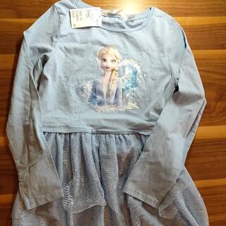 H&M - 新品★H&M  アナと雪の女王 エルサ ワンピース135〜140