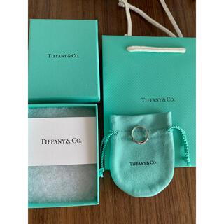 ティファニー(Tiffany & Co.)のティファニーインフィニティリング TIFFANY&Co指輪(リング(指輪))