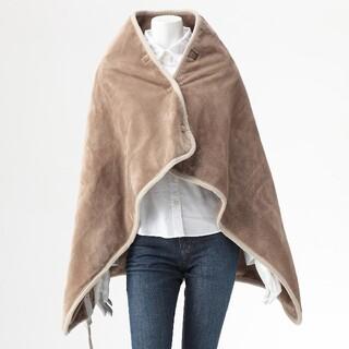 ムジルシリョウヒン(MUJI (無印良品))の無印良品  羽織る電気ひざ掛け(電気毛布)