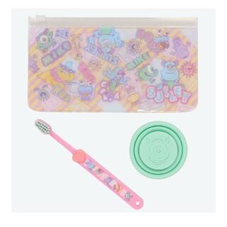 ディズニー(Disney)のTDR モンスターズ・インク 歯ブラシセット(歯ブラシ/歯みがき用品)