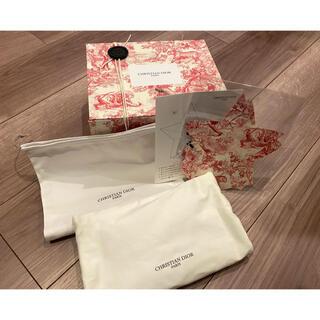 クリスチャンディオール(Christian Dior)のDior ディオール トワルドゥジュイ 限定ボックス 巾着 クッション 折り紙(ラッピング/包装)