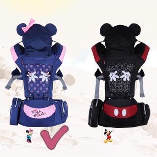 ディズニー(Disney)のディズニー 抱っこ紐 正規品 ベビーキャリア 新生児 乳幼児(抱っこひも/おんぶひも)
