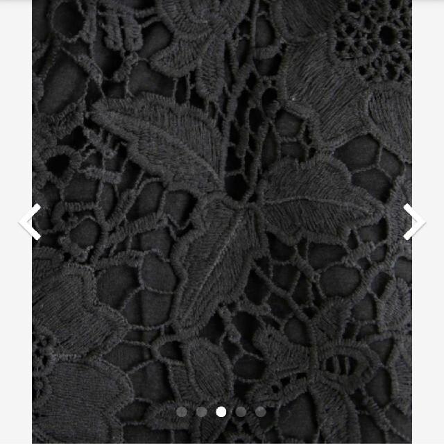 antiqua(アンティカ)のアンティカ antiqua 総レースジャケット レディースのジャケット/アウター(ノーカラージャケット)の商品写真