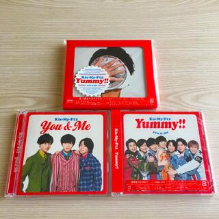 キスマイフットツー(Kis-My-Ft2)のyummy ヤミー キスマイ アルバム 初回B 通常盤 セブンネット限定盤(ポップス/ロック(邦楽))