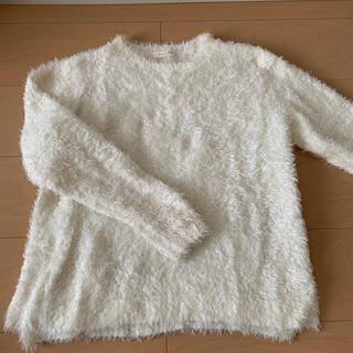 ショコラフィネローブ(chocol raffine robe)のシャギーニット (ニット/セーター)