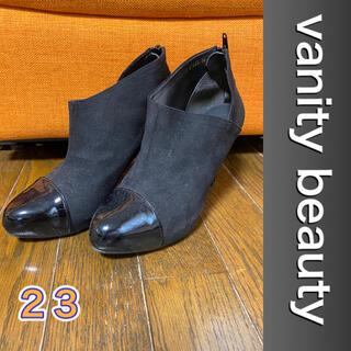 vanitybeauty - お値下げ❣️vanity beauty スエード、エナメル、ショートブーツM