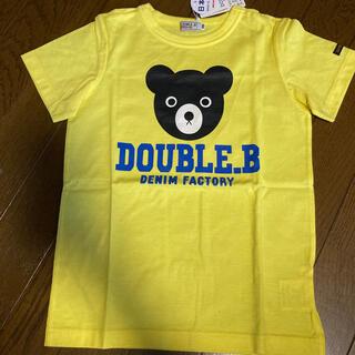 ダブルビー(DOUBLE.B)の120 ダブルビー (Tシャツ/カットソー)