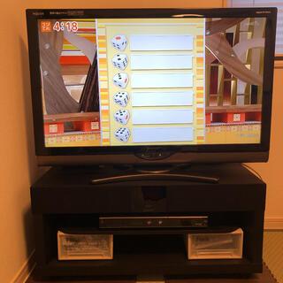 アクオス(AQUOS)のプAQUOS LC-40SE1とレコーダーDV-AC82とテレビ台セット(テレビ)