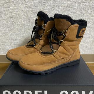 ソレル(SOREL)のソレル ブーツ スノーブーツ 天然皮革 ウォータープルーフ ショートブーツ(ブーツ)