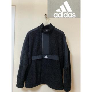 アディダス(adidas)の【大人気 adidas】 フリース 黒 2XL(その他)