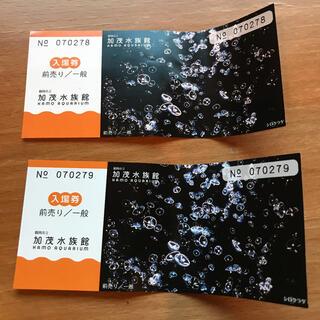 🍊様専用【匿名配送】加茂水族館 入場券2枚セット(水族館)