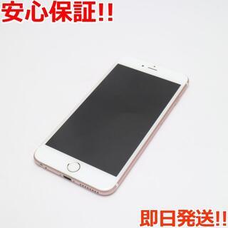 アイフォーン(iPhone)の超美品 SIMフリー iPhone6S PLUS 32GB ローズゴールド (スマートフォン本体)