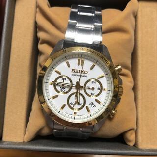 セイコー(SEIKO)の【新品】SEIKO セレクション 腕時計 メンズ クロノグラフ SBTR024(腕時計(アナログ))