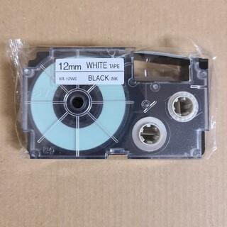 CASIO ネームランド テープ 白 12mm