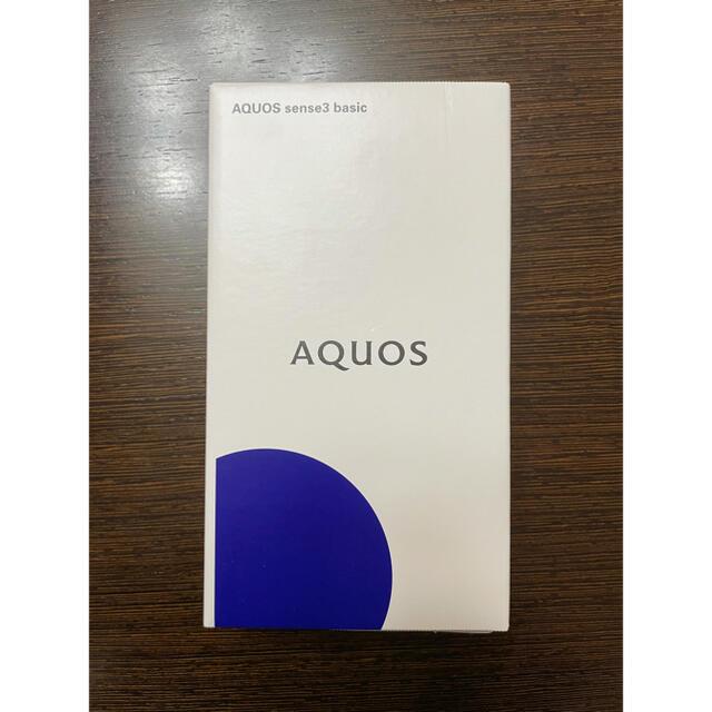 AQUOS(アクオス)のAQUOS sense3 basic SHV48 スマホ/家電/カメラのスマートフォン/携帯電話(スマートフォン本体)の商品写真
