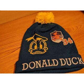 ディズニー(Disney)のドナルドダックのニット帽(ニット帽/ビーニー)