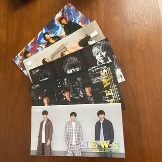 ニュース(NEWS)のNEWS 会報&メッセージカード(アイドルグッズ)
