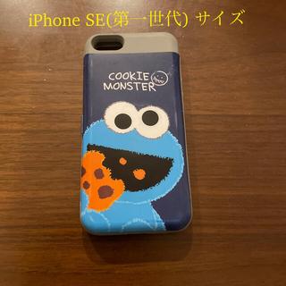セサミストリート(SESAME STREET)のクッキーモンスタースマホカバー(iPhone SE第一世代、iPhone5S)(iPhoneケース)
