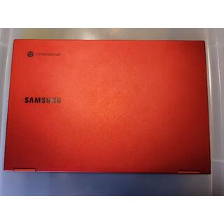 サムスン(SAMSUNG)のSamsung Galaxy Chromebook レッドモデル(ノートPC)