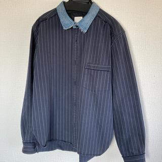アンユーズド(UNUSED)のystrdy's tmrrw  SS イエスタデイズトゥモロウ ストライプシャツ(シャツ)