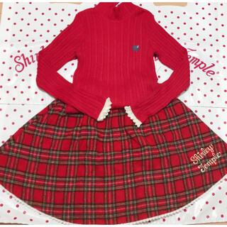 Shirley Temple - 新品 シャーリーテンプル トップス+スカートセット