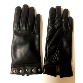 ケイトスペードニューヨーク(kate spade new york)のkate spade レザー 手袋 スマホ タッチパネル対応 ケイトスペード(手袋)