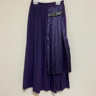 SPINNS - アシメスカート ロングスカート ゆびが1ぽん