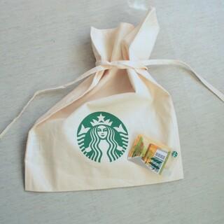 スターバックスコーヒー(Starbucks Coffee)のSTARBUCKS バッグ & スタバカード セット(エコバッグ)
