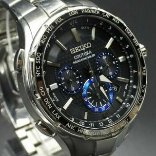 セイコー(SEIKO)の【美品】セイコー コーチュラ 電波ソーラー SEIKO 【SSG009】(腕時計(アナログ))