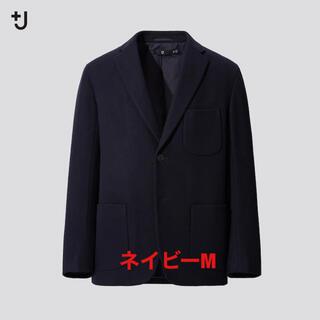 Mサイズ Uniqlo +J ウールブレンドオーバーサイズジャケット