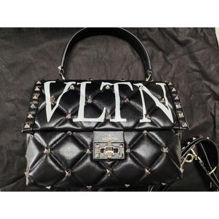 ヴァレンティノ(VALENTINO)の#VALENTINO#VLTN CANDYSTUD ミディアム ブラック(ハンドバッグ)