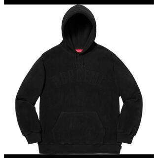 シュプリーム(Supreme)の supreme  polartec  hooded sweatshirt(パーカー)