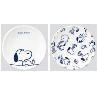 ユニクロ(UNIQLO)のスヌーピー♡ UNIQLO♡ 長場雄 ♡豆皿2枚セット!(食器)