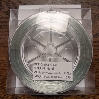 DRT Original NYLON Hard 20lb 600m(釣り糸/ライン)