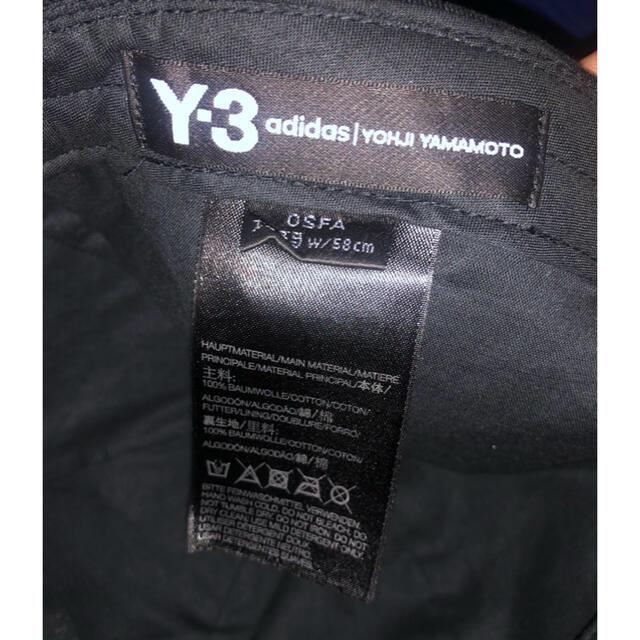 Y-3(ワイスリー)のY3 YOHJI YAMAMOTO adidas キャップ メンズの帽子(キャップ)の商品写真