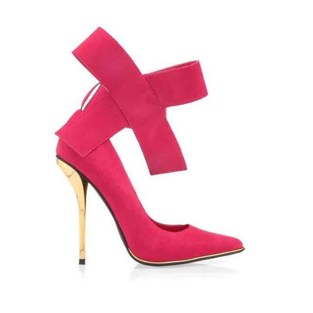 ♡privileged♡ピンクリボン レディースの靴/シューズ(ハイヒール/パンプス)の商品写真
