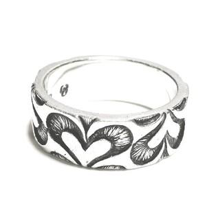 エムズコレクション(M's collection)のエムズコレクション シルバー925 ハートデザイン シルバーリング アクセサリー(リング(指輪))