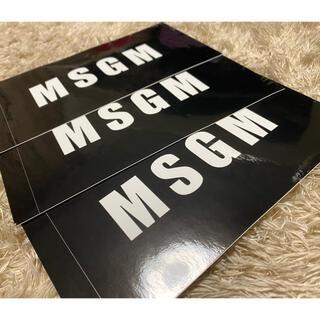 MSGM ステッカー シール