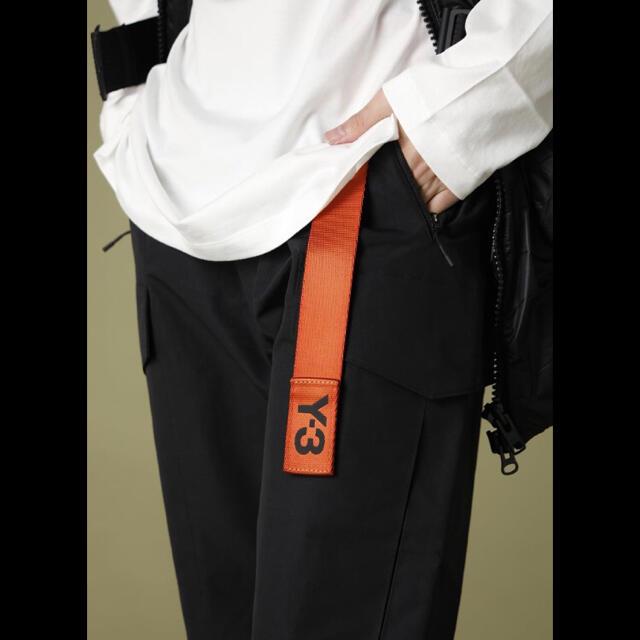 Y-3(ワイスリー)の◆ Y-3 ロゴ クラシックロゴベルト ロングベルト ワイスリー L ◆ メンズのファッション小物(ベルト)の商品写真