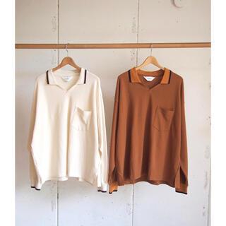 サンシー(SUNSEA)の新品未使用 wonderland 20aw knit polo shirts(ポロシャツ)