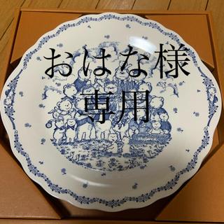 ニッコー(NIKKO)のニッコー テディベアの大皿 ニコニコ22ふーふー22(食器)
